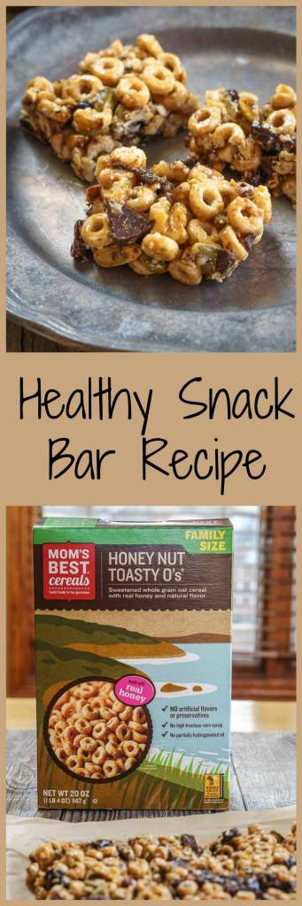 This Healthy Snack Bar Recipe is a delicious no-guilt way to help you succeed in maintaining a healthy lifestyle. | HostessAtHeart.com