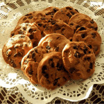 Oatmeal Chocolate chip Cookies with Dried Fruit is a quick recipe that adds a lot of healthy ingredients to your regular chocolate chip cookie. They're really easy to make and the addition of dried fruits and nuts to give them that extra zing.   HostessAtHeart.com