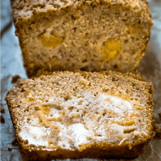 Quick Peach Streusel Bread Recipe