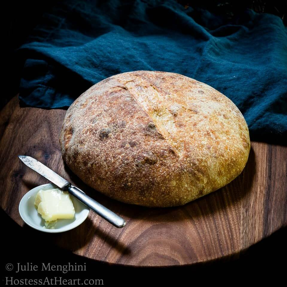 Overnight 500g Sourdough Bread Recipe - #BreadBakers