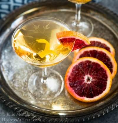 Blood Orange Godmother Cocktail