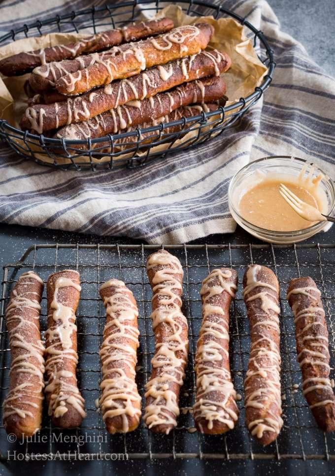 Cinnamon Sugar Soft Pretzel Recipe