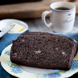 Decadent Dark Chocolate Banana Bread Recipe