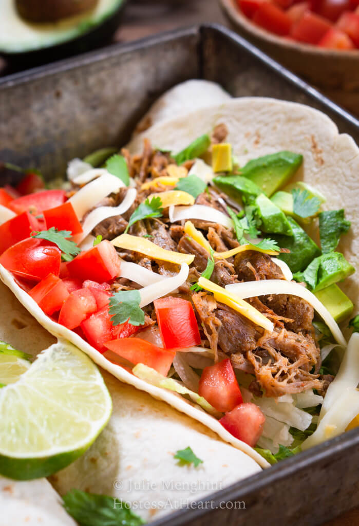 Instant Pot Pulled Pork Tacos Recipe