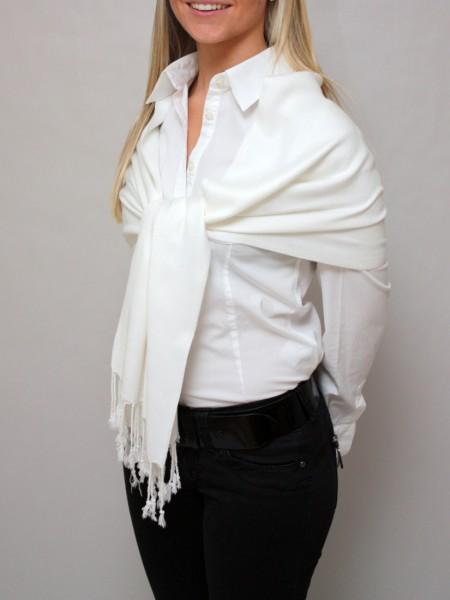Sjaal wit