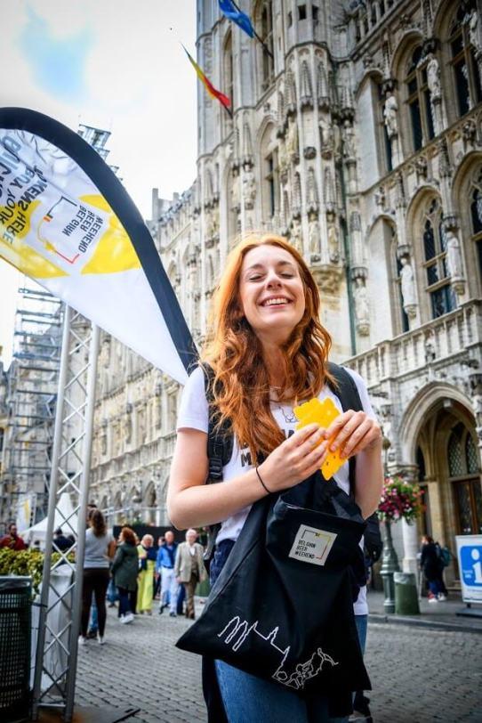 Brussel Mobiele drankbonnenverkoop