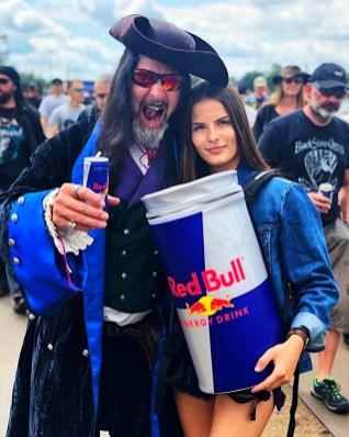 Red Bull samplinggirl Graspop