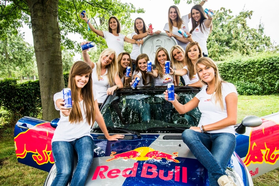 Samplingteam Red Bull