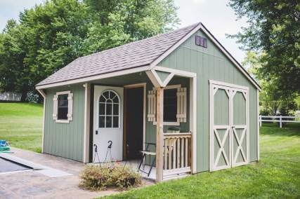 Carriage House with Porch