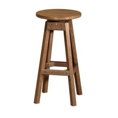 LuxCraft Poly Bar Stool Antique Mahogany