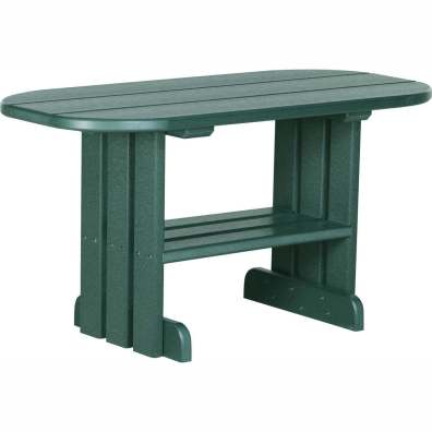 LuxCraft Poly Coffee Table Green
