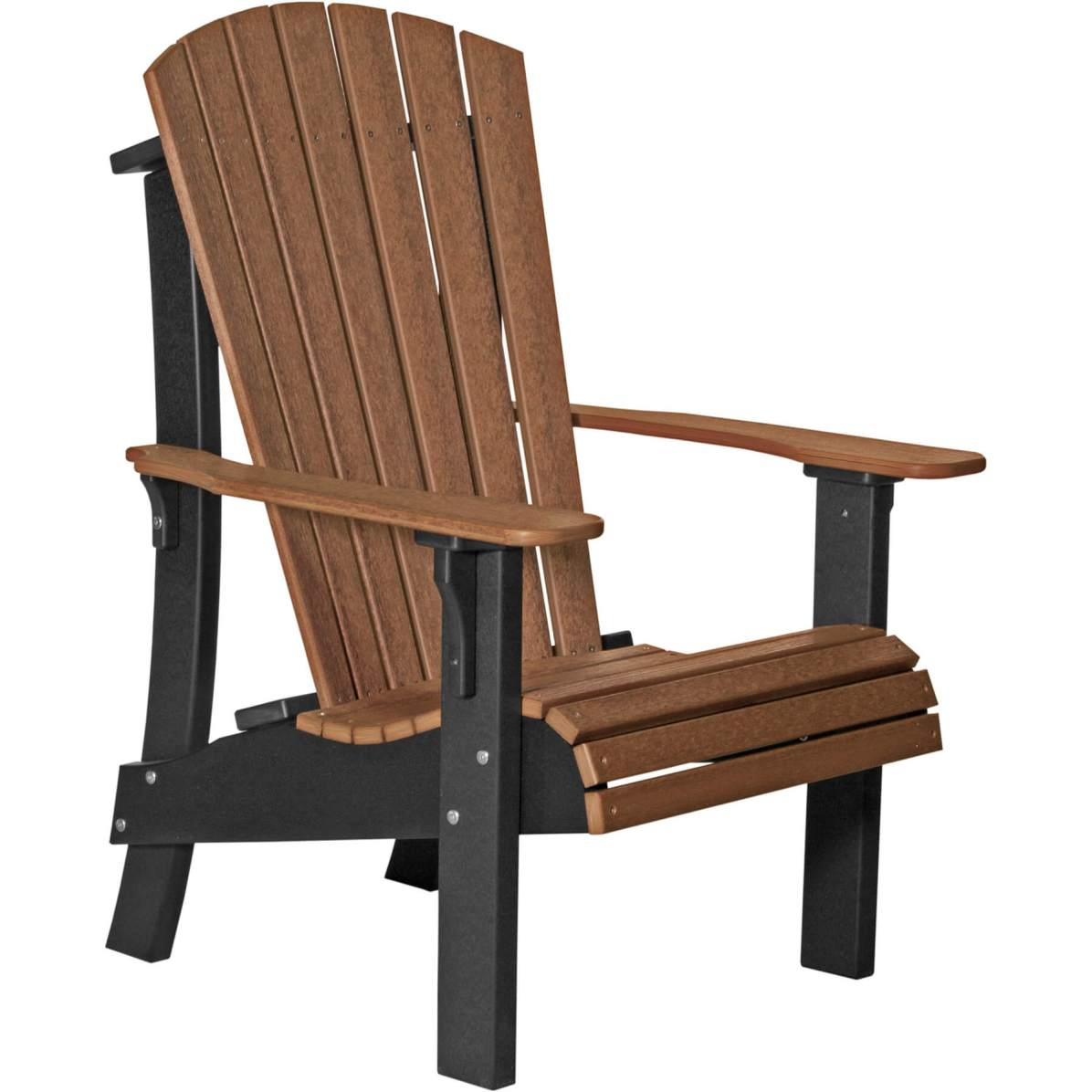 RACAMB Royal Adirondack Chair (Antique Mahogany & Black)