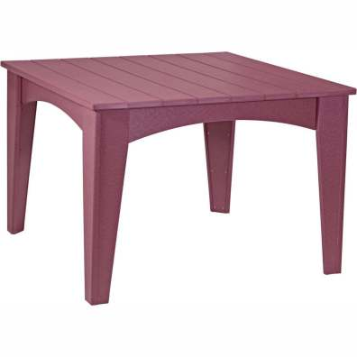 Island Dining Table (44 Square) Cherrywood