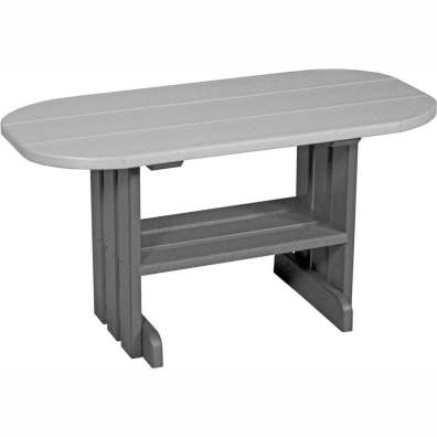 LuxCraft Poly Coffee Table Dove Grey & Slate