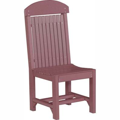 LuxCraft Poly Regular Chair Dining Height Cherrywood