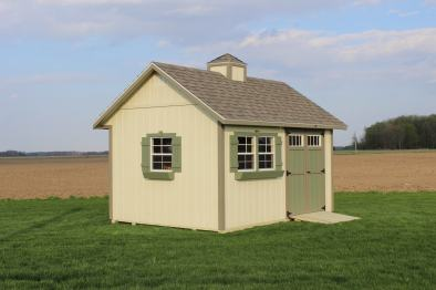 10x14 Garden Shed Painted