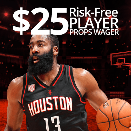 $25 Risk Free Player Props Wager
