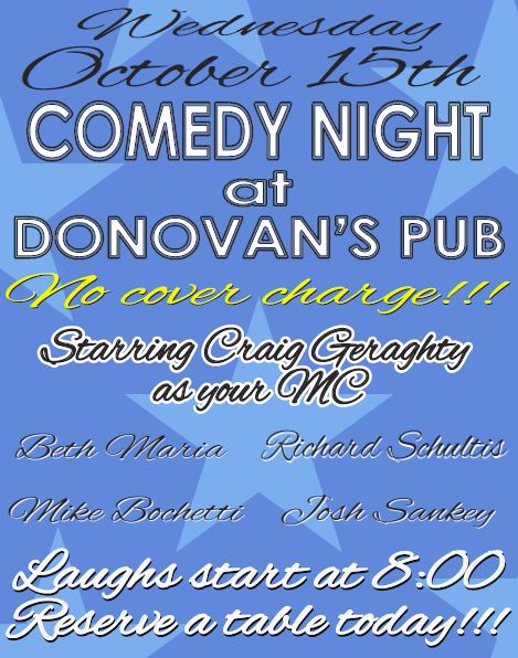 Comedy Night 10-15