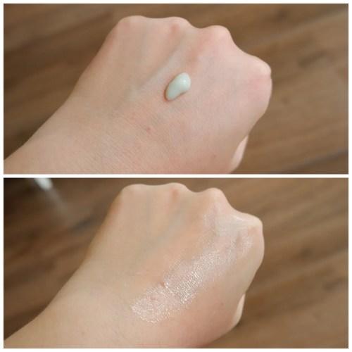 catrice clean id anti-redness serum primer review swatch makeup look application dry skin fair skin sensitive skin