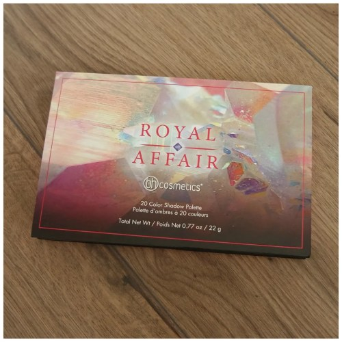 bh cosmetics eyeshadow palette review royal affair swatch makeup look 4 looks 1 palette