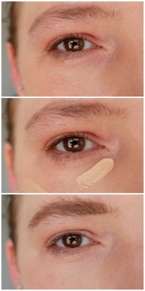 catrice clean id concealer review swatch makeup look application 004 light almond