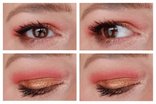 catrice neon nude neonude eyeshadow palette review swatch makeup look application 3 looks 1 palette