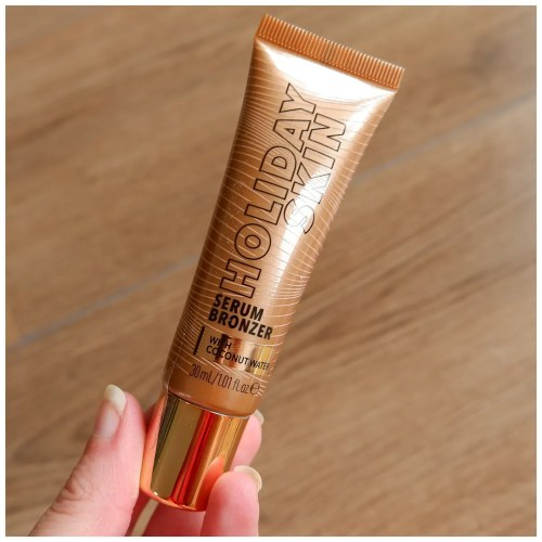 catrice holiday skin serum bronzer liquid cream 010 escape to the beach review swatch makeup look application fair skin dry skin sensitive skin
