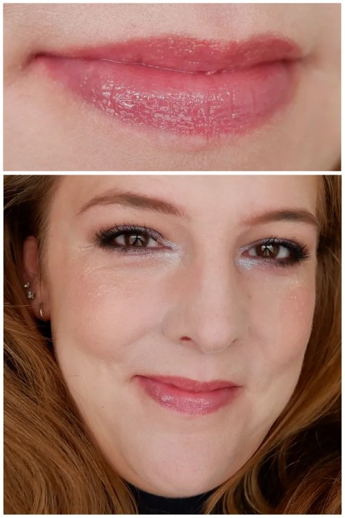 colourpop lux gloss figgy wit it review swatch makeup look application lipstick lipgloss