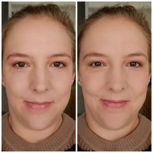 Colourpop No Filter Sheer Matte Pressed Powder review swatch application makeup look Fair