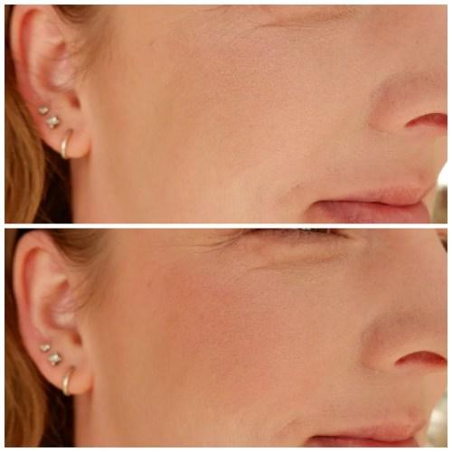 colourpop blush pressed powder review swatch vogue fair skin makeup look application