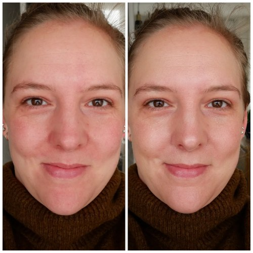 charlotte tilbury hollywood flawless filter primer highlighter illuminator illuminating primer review swatch fair skin dry skin sensitive skin makeup application look
