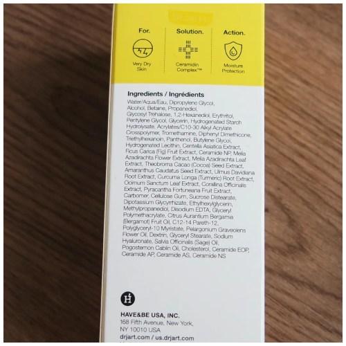 Dr. Jart Ceramidin toner skincare review korean k-beauty swatch dry skin sensitive skin