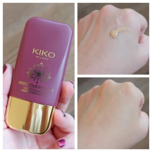 Kiko Milano Precious Rituals Velvet Flawless Vegan Foundation 01 Porcelain