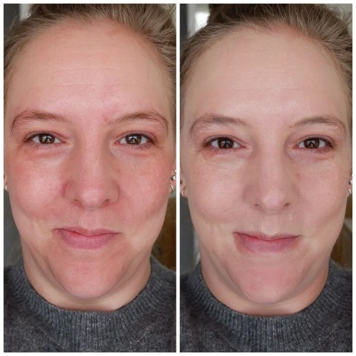 giorgio armani neo nude true to skin natural glow foundation 1.5 review swatch makeup look application fair skin dry skin sensitive skin