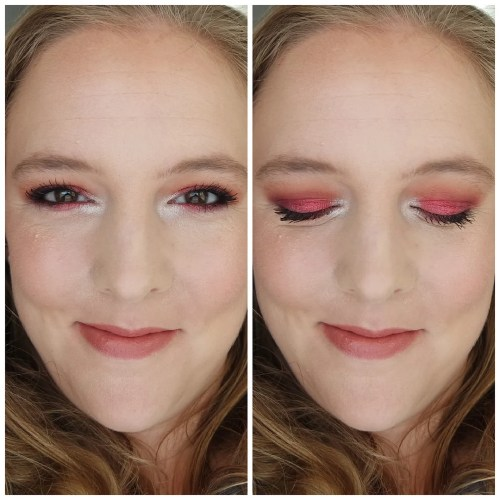 juvia's place afrique eyeshadow palette review swatch look makeup look 3 looks 1 palette application fair skin