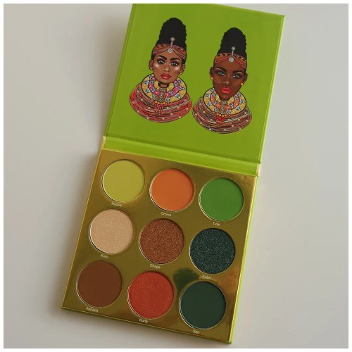 juvia's place the tribe eyeshadow palette review swatch makeup look fair skin