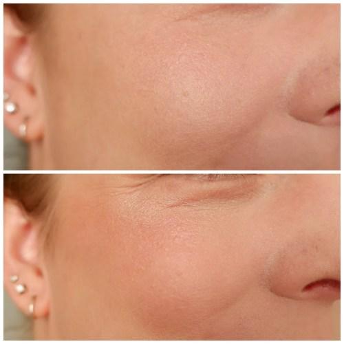 kvd vegan beauty kat von d everlasting blush foxglove review swatch makeup look fair skin