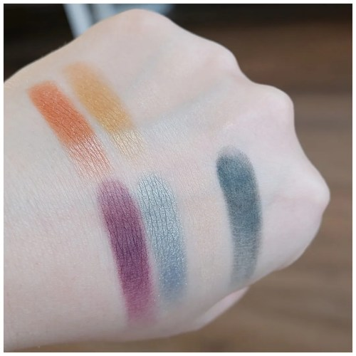 lime crime venus prelude chroma eyeshadow palette review swatch makeup look application fair skin