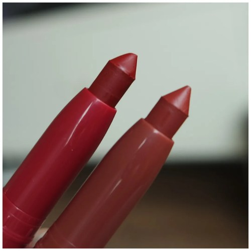 maybelline super stay ink crayon lipstick 55 make it happen 05 live on the edge review swatch makeup look application