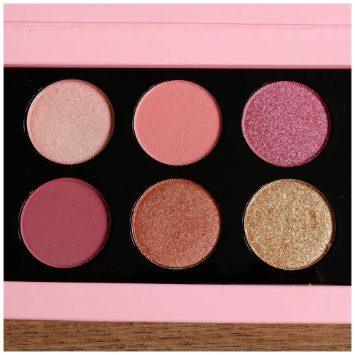 pat mcgrath labs mthrshp rose decadence mothership eyeshadow palette review swatch makeup look application fair skin