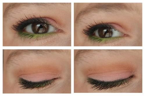 strobe cosmetics shroud cosmetics creepy cute eyeshadow palette review pastel swatch fair skin makeup look application 2 looks 1 palette