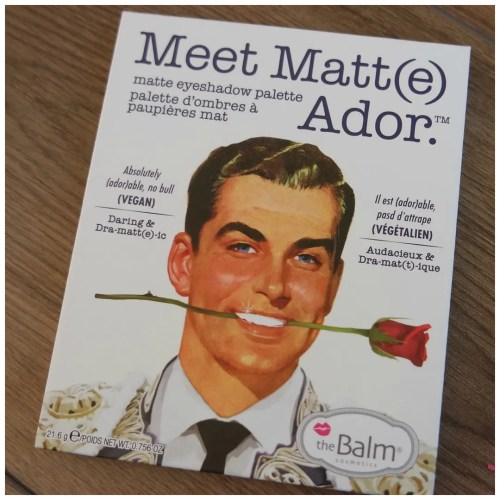 the balm meet matte adore ador matt review swatch eyeshadow palette makeup look 2 looks 1 palette