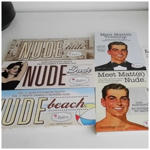 the balm eyeshadow palette collection