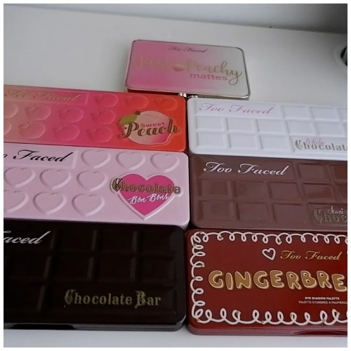 too faced eyeshadow palette collection