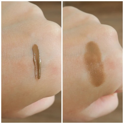urban decay inked brow brow gel taupe trap review swatch fair skin make up look