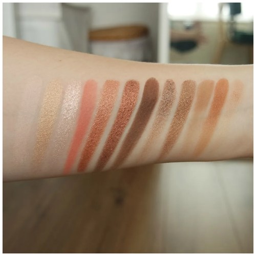 urban decay naked reloaded eyeshadow palette review swatch makeup look 3 looks 1 palette