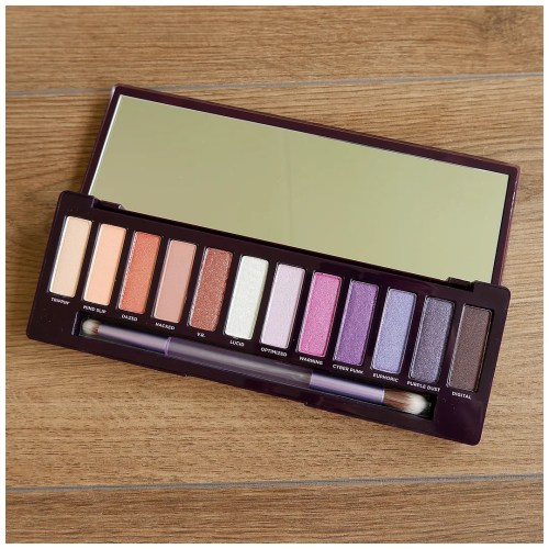 urban decay naked ultraviolet eyeshadow palette review swatch makeup look fair skin wearable everyday 3 looks 1 palette
