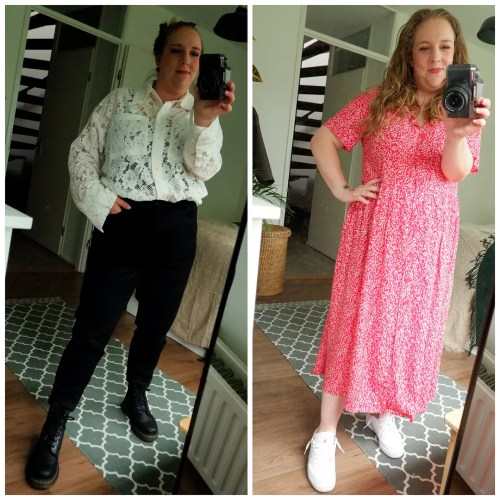 what I wore outfits of the week