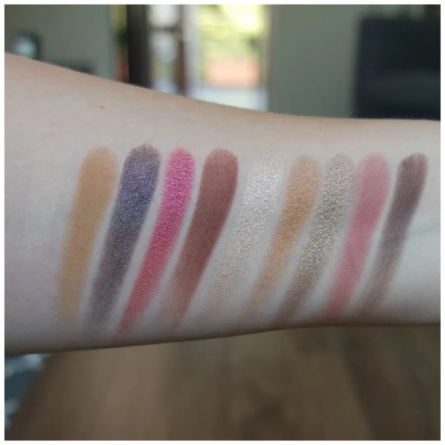 zoeva heritage eyeshadow palette review swatch 2 looks 1 palette make up look