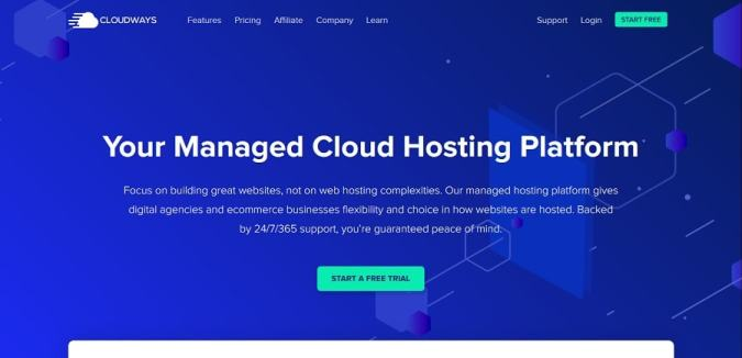 cloudways best WordPress hosting for India